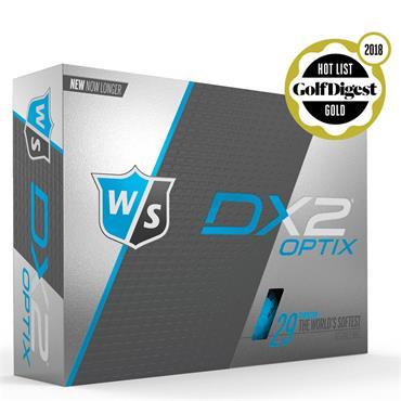 Wilson DX2 Optix BLUE 48-144 dz logo ball
