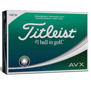 Titleist Personalised AVX 3+1Free Dozen Balls  White
