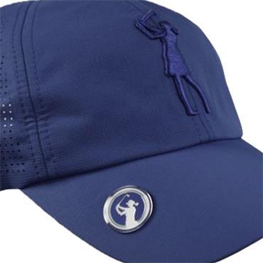 Surprizeshop Lady Golfer Emblem Cap  Blue