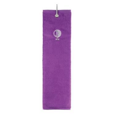 Surprizeshop Tri-Fold Towel  Purple