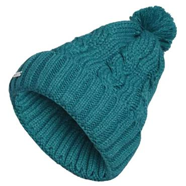 Adidas Ladies Pompom Beanie Green