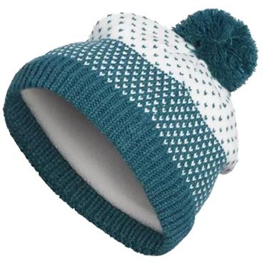 Adidas Ladies Fashion Lined Pompom Beanie Green