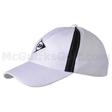 Dunlop Tennis Cap  White/Black