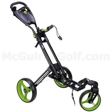 FastFold 360 Manual Cart  Black/Lime
