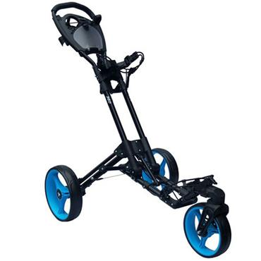 FastFold 360 Manual Cart  Black w/ blue wheels