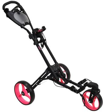 FastFold 360 Manual Cart  Black/Neon Pink