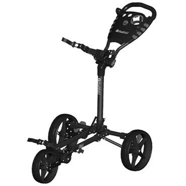 FastFold Flat Fold Manual Cart  Black