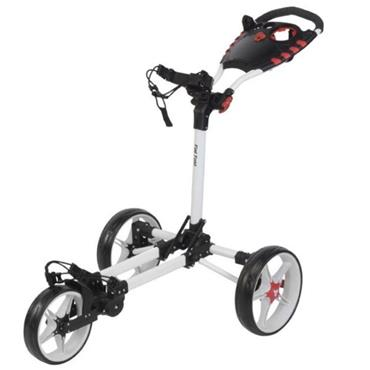 FastFold Flat Fold Manual Cart  White