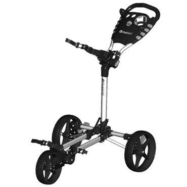 FastFold Flat Fold Manual Cart  Silver
