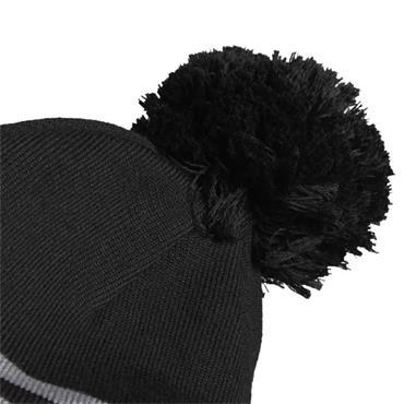 adidas 3 Stripe Beanie  Black