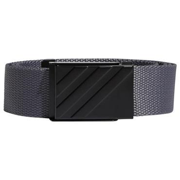 adidas Gents Webbing Belt  Grey