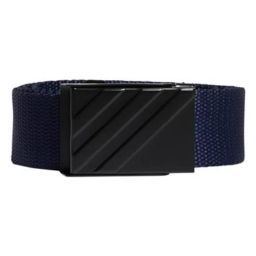 adidas Gents Webbing Belt  Navy