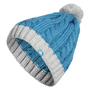 adidas Ladies Two Toned Pom Beanie  Colour - TEAL