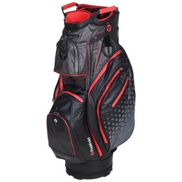 FastFold Thunder Waterproof Cart Bag  Grey Red Black