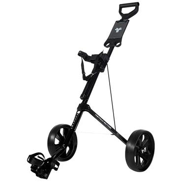 Spalding Fastfold Junior 2 Wheeled Trolley  Black