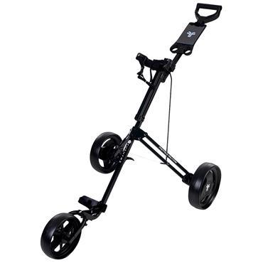 Spalding Fastfold Junior 3 Wheeled Trolley  Black