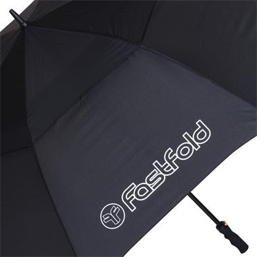 FastFold Double Canopy Umbrella  Black
