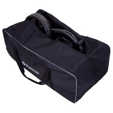 FastFold Trollley Bag  Black Silver
