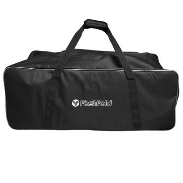 FastFold Trollley Bag  Black Silver