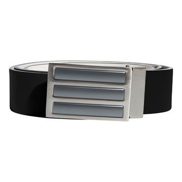 adidas Gents 3 Stripe Tour Belt  Grey 3