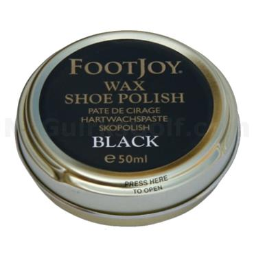 FootJoy Wax Shoe Polish  Black