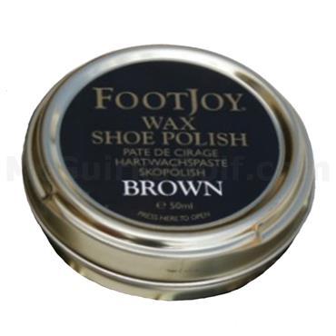 FootJoy Wax Shoe Polish  Brown