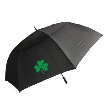 Shamrock Double Canopy Umbrella Shamrock  Black