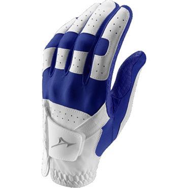 Mizuno Gents Stretch One Size Glove Left Hand White Royal