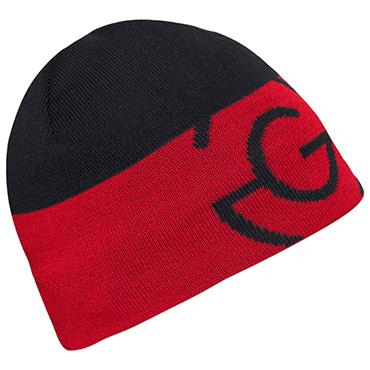 Galvin Green Gents Liam Beanie  Black/Red