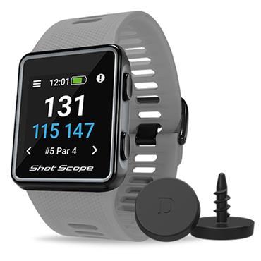 Shot Scope V3 Shotscope GPS Watch  Grey