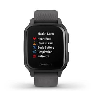 Garmin Venu Sq GPS Watch  Shadow Grey Slate
