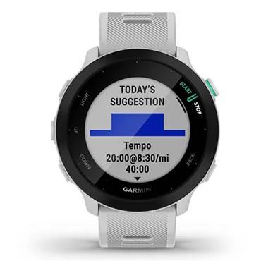 Garmin Forerunner 55 GPS Watch  Whitestone