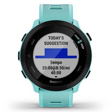 Garmin Forerunner 55 GPS Watch  Aqua