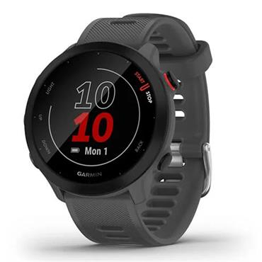 Garmin Forerunner 55 GPS Watch  Monterra Grey