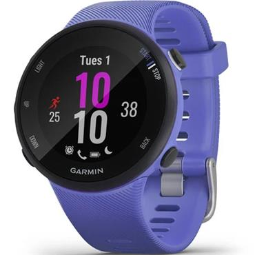 Garmin Forerunner 45S GPS Watch  Iris Blue