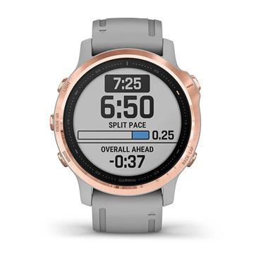 Garmin Fenix 6S Sapphire GPS Watch  Rosegold