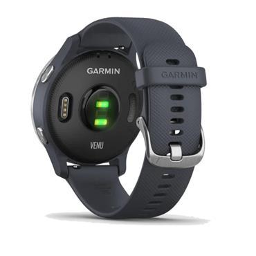 Garmin Venu Blue GPS Watch  Blue Granite Stainless