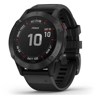 Garmin Fenix 6 Pro GPS Watch  Black