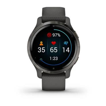 Garmin Venu 2S GPS Watch  Grey Slate