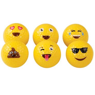 Emoji Emoji 36-Pack Golf Balls  Assorted