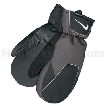 Nike Cold II Mitts  Black - White