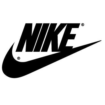 "Nike 62"" WindSheer Lite III Umbrella Black - Silver - White"