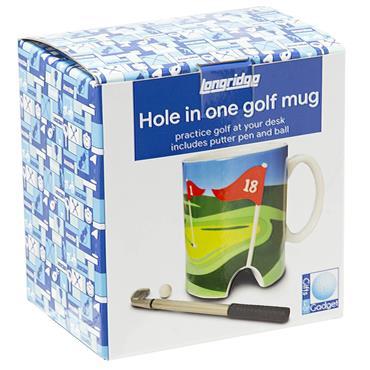 Longridge Golf Mug & Mini Putter  White