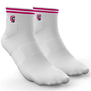 Golf Sock Ireland Ladies Socks Maria  White Cerise