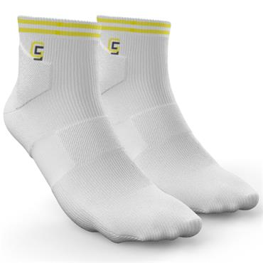 Golf Sock Ireland Ladies Socks Maria  White Lemon