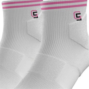 Golf Sock Ireland Ladies Socks Maria 2 Pair Pack  White Lilac
