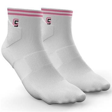 Golf Sock Ireland Ladies Socks Maria  White Lilac