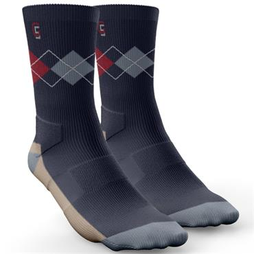Golf Sock Ireland Gents Elite Socks Richard 2 Pair Pack  Navy