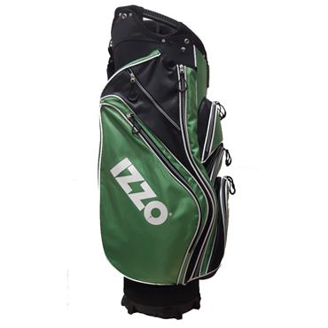 Izzo Equipment Cart Bag  Green