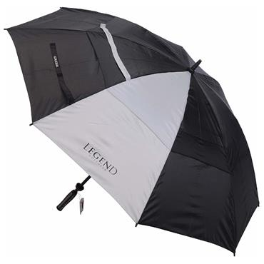 Legend Golfgear Storm Umbrella  Black - White